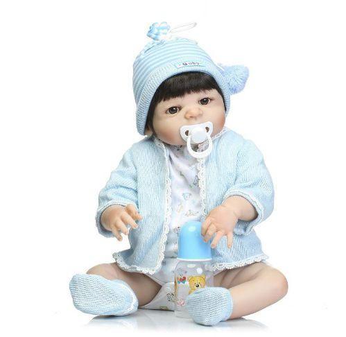 Bebe Reborn Barato Boneca de Silicone Realista