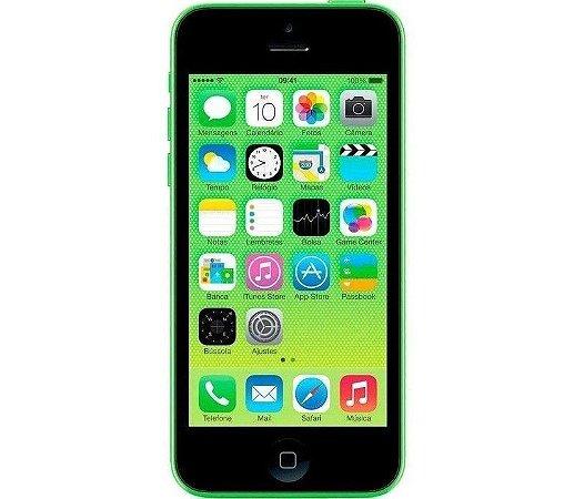 VITRINE: iPhone 5C 8GB Verde iOS 4G