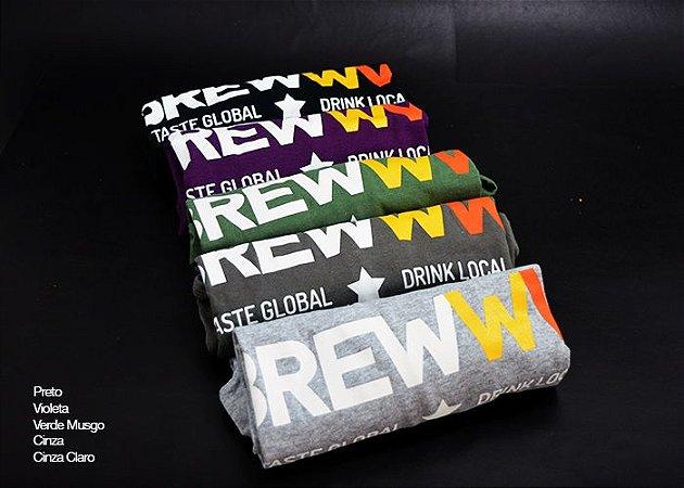 Camiseta BREWWW - Drink Local Taste Global