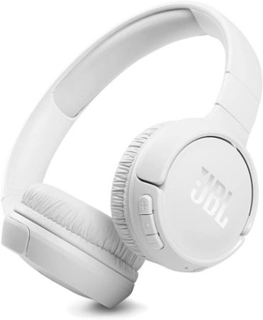 Headphone Sem Fio Bluetooth com Microfone JBL Tune 510BT Branco