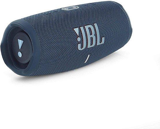 Caixa de Som Portátil Bluetooth JBL Charge 5 Azul