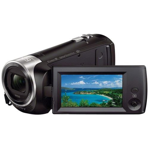 Filmadora Digital Sony Handycam HDR-CX440 Wi-Fi 8GB 9.2MP Zoom Óptico 30X Vídeo Full HD
