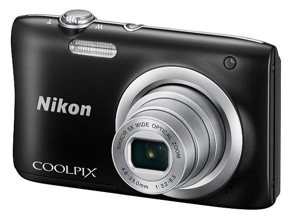 Câmera Digital Nikon Coolpix A100 20.1MP Zoom Óptico 5X