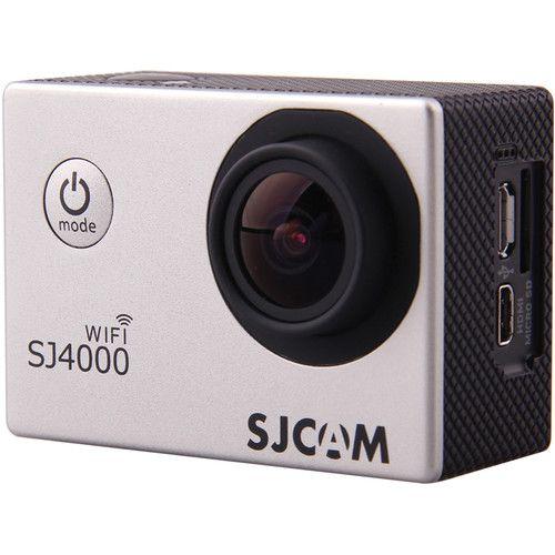 Filmadora SJCAM ActionCam SJ4000 Silver Wi-Fi 12MP Vídeo Full HD