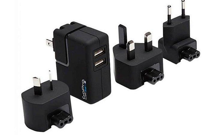 Carregador de Parede GoPro Supercharger AWALC-002 para Câmeras GoPro