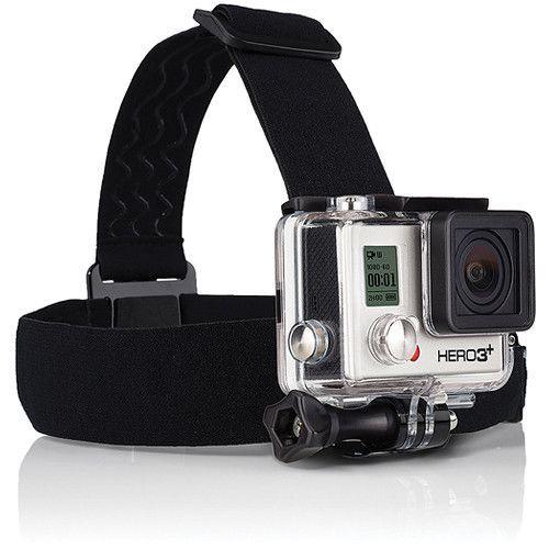 Suporte Cabeça Head Strap + QuickClip GoPro ACHOM-001 para Câmeras GoPro