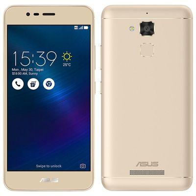 "Smartphone ASUS Zenfone 3 Max ZC520TL Dourado Dual Chip Tela 5.2"" Android 6.0 13MP 16GB"