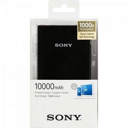 Carregador Portátil Sony CP-V10B Preto 10000mAh USB