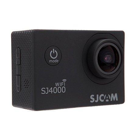 Filmadora SJCAM ActionCam SJ4000 Black Wi-Fi 12MP Vídeo Full HD