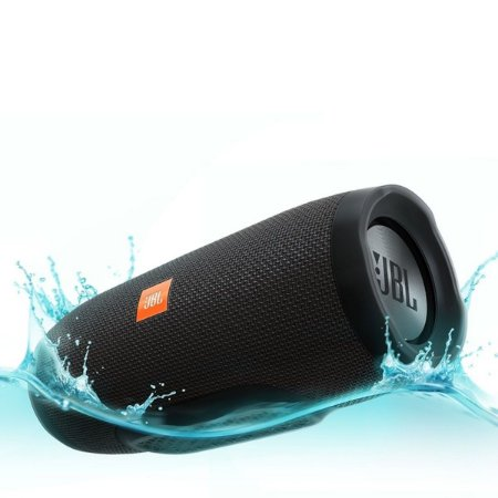Caixa de Som Portátil Bluetooth JBL Charge 3 Preta