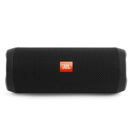 Caixa de Som Portátil Bluetooth JBL Flip 4 Preta