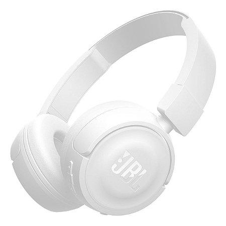 Headphone Sem Fio Bluetooth com Microfone JBL T450BT Branco