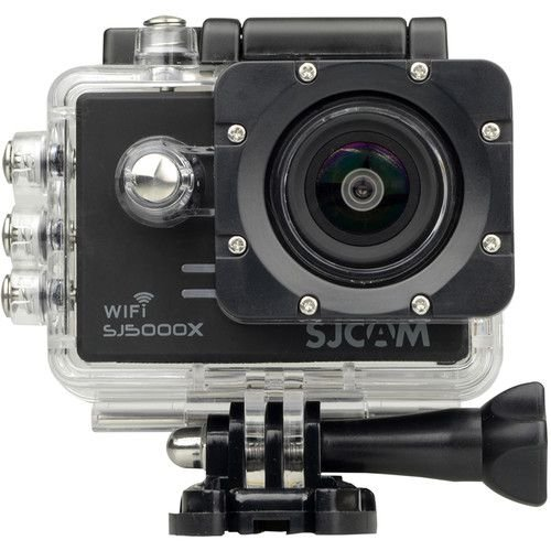 Filmadora SJCAM ActionCam SJ5000X Elite Black Wi-Fi 12MP Vídeo 4K