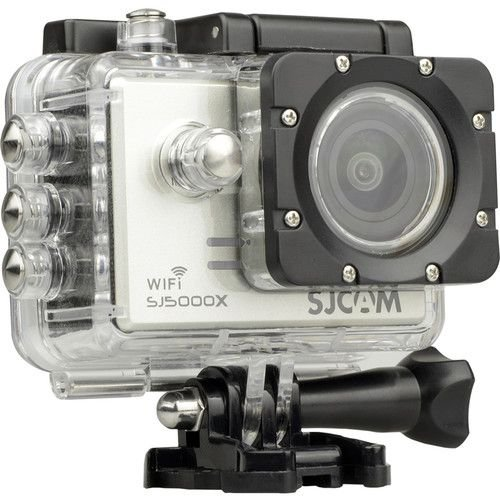 Filmadora SJCAM ActionCam SJ5000X Elite Silver Wi-Fi 12MP Vídeo 4K