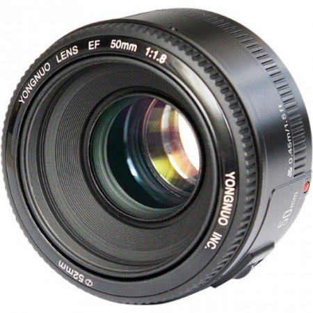 Lente Yongnuo YN 50mm f/1.8 para Câmeras Canon
