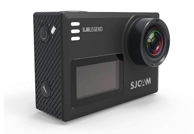 Filmadora SJCAM ActionCam SJ6 Legend Black Wi-Fi 16MP Vídeo 4K