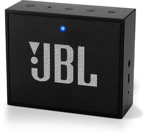 Caixa de Som Portátil Bluetooth JBL GO Preta
