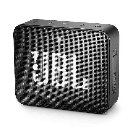 Caixa de Som Portátil Bluetooth JBL GO 2 Preta