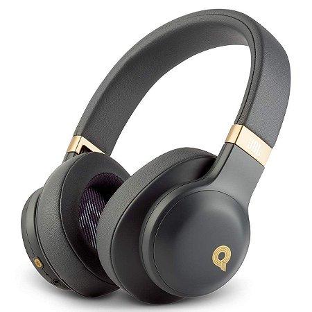 Headphone Sem Fio Bluetooth com Microfone JBL E55BT Quincy Edition Preto