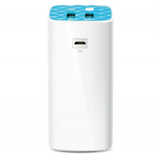 Carregador Portátil TP-Link TL-PB10400 Branco 10400mAh 2 Saídas USB