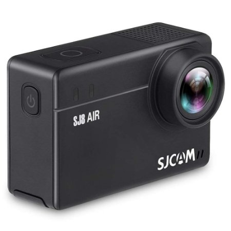 Filmadora SJCAM ActionCam SJ8 Air Black Wi-Fi 14MP Vídeo Full HD