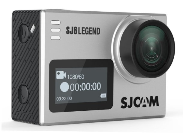 Filmadora SJCAM ActionCam SJ6 Legend Silver Wi-Fi 16MP Vídeo 4K
