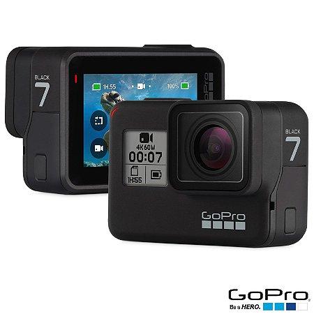 Filmadora GoPro Hero7 Black Edition Wi-Fi GPS 12.0MP Vídeo 4K