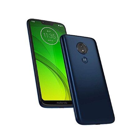 Smartphone Motorola G7 Power XT1955-1 Azul Navy 4G Dual 32GB Tela 6.2 Android 9.0 Câmera 12MP