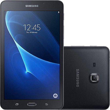 Tablet Samsung Tab A SM-T285M Preto 4G Tela 7.0 Memória 8GB Dual Câmera