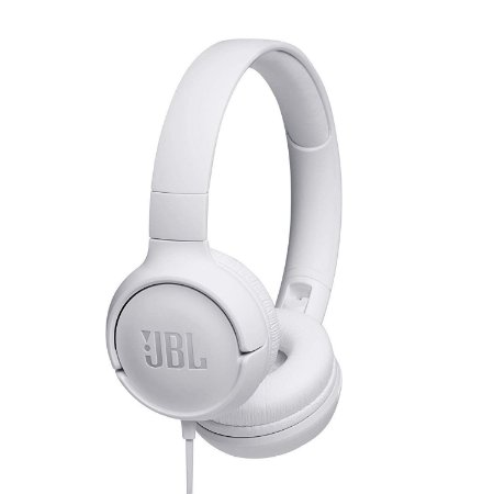 Headphone com Microfone JBL Tune 500 Branco