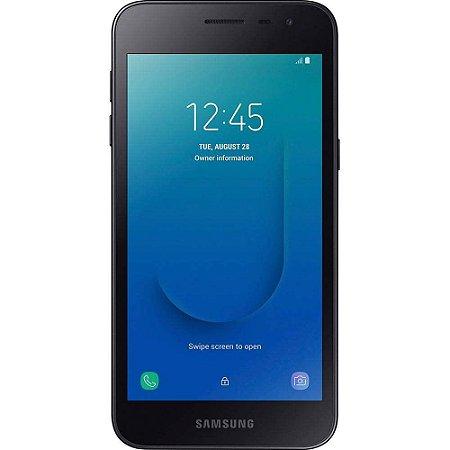 Smartphone Samsung Galaxy J2 Core J260M Preto 4G Dual 16GB Tela 5.0 Android 8.1 Câmera 8MP