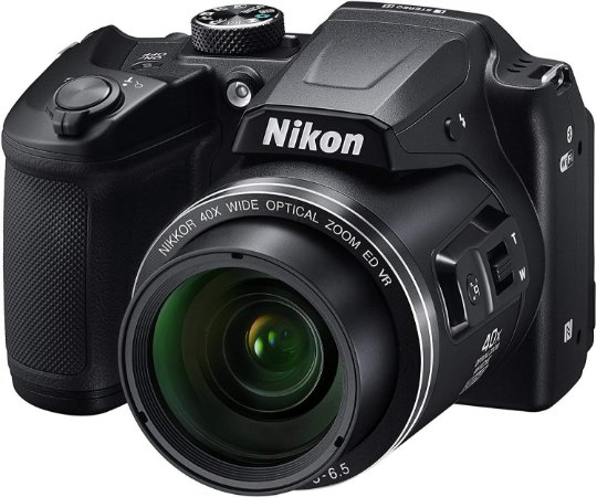 Câmera Digital Nikon Coolpix B500 16.0MP Zoom Óptico 40X Vídeo Full HD
