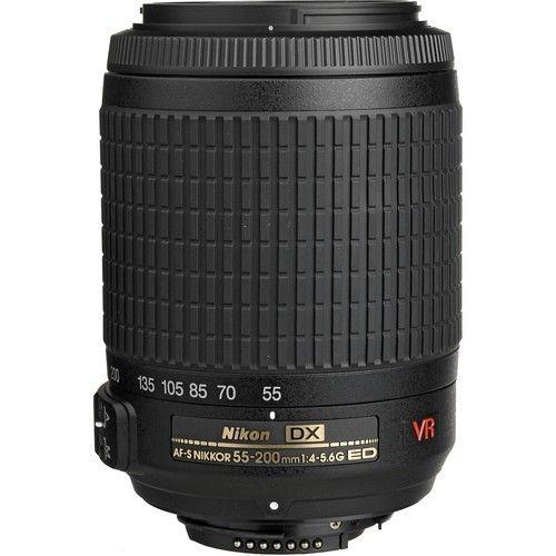 Lente Nikon AF-S DX 55-200mm f/4-5.6G ED VR