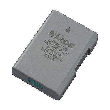 Bateria Nikon EN-EL14a para D3100, D3200, D3300, D3400, D5100, D5200, D5300, D5500, D5600