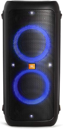 Caixa de Som Amplificada Bluetooth JBL Party Box 300 240W Preta com Bateria
