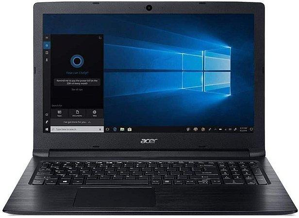 Notebook Acer Aspire 3 A315-53-P884 Intel Quad Core Gold 4417U 8ª Ger Dual Core 4GB RAM HD 500GB Tela 15.6 HD Windows 10