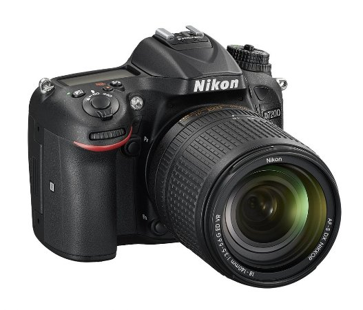 Câmera Digital Nikon D7200 Wi-Fi 24.2MP Vídeo Full HD + Kit Lente 18-140mm VR