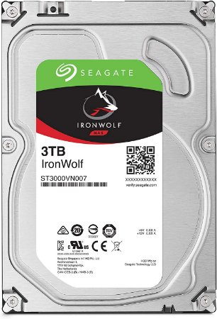 "Hard Disk Interno Seagate 3TB IronWolf NAS 3.5"" SATA 6.0"