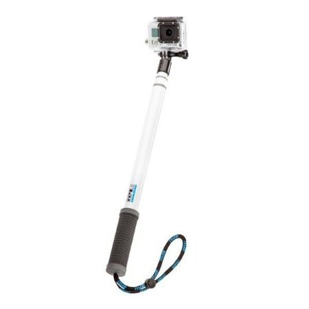 Bastão Extensor Telescópico Gopole GPR-9 Branco para Câmeras GoPro