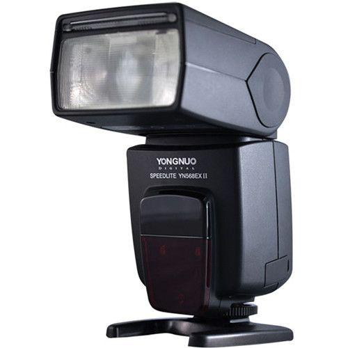 Flash Yongnuo Speedlite YN568EX II TTL para câmeras Canon