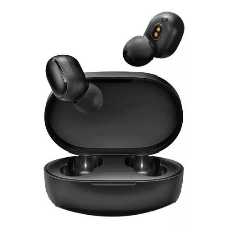 Fone de Ouvido Intra-auricular Bluetooth Xiaomi Mi True Wireless Earbuds Basic S Preto