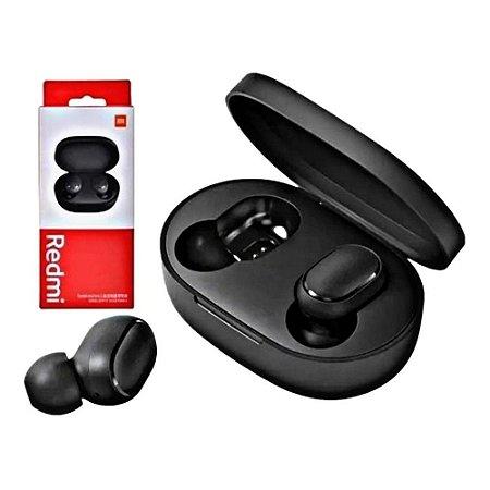 Fone de Ouvido Intra-auricular Bluetooth Xiaomi Redmi AirDots 2 Preto