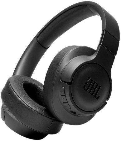 Headphone Sem Fio Bluetooth com Microfone JBL Tune 750BT NC Preto