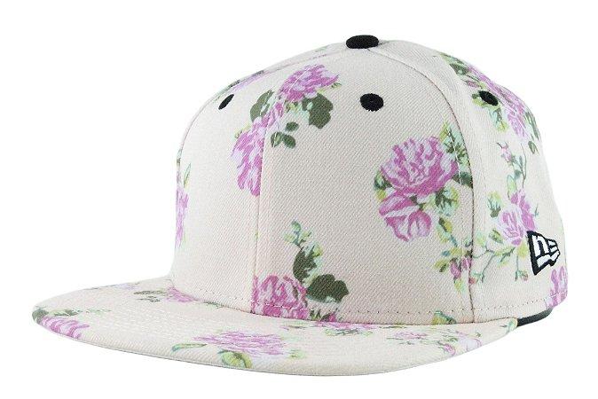 2e36afb0668 Boné New Era Floral - Snapback - Tribe OnLine