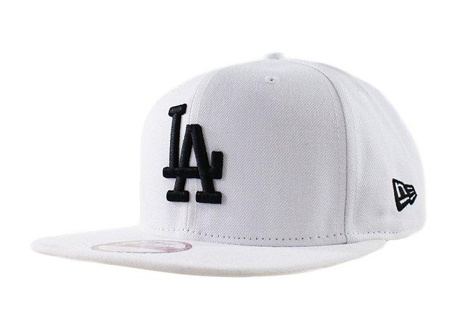Boné New Era Dodgers Branco - Snapback - Tribe OnLine 3b4e58af6b0