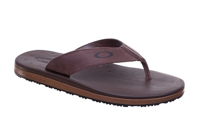 Chinelo Oakley Blender - Marrom - Tribe OnLine 24877c8036d