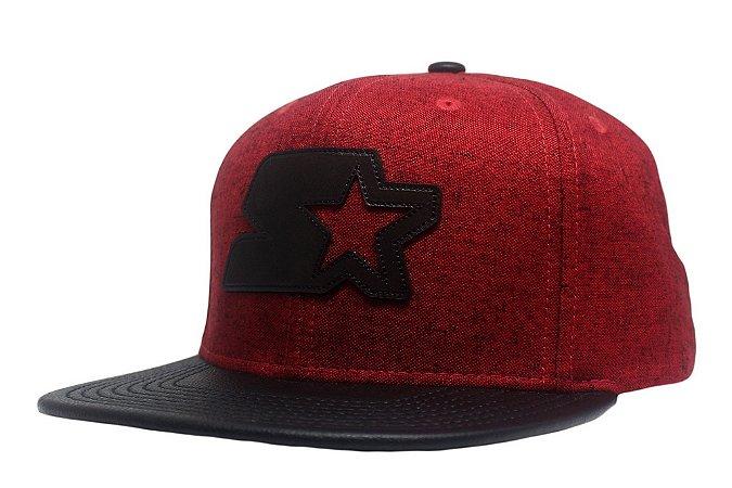 Tribe - Boné Starter Snapstar Leather - Snapback - Tribe OnLine 0329b205b37