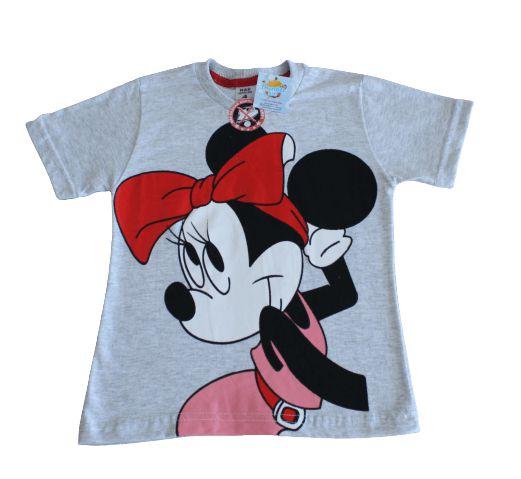 camiseta personagens minie tamanho 4