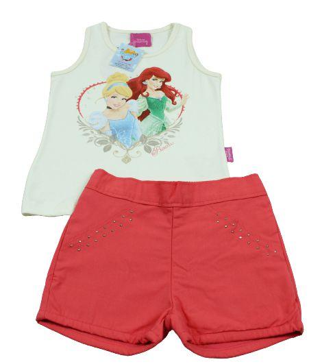 conjunto Disney princess brandili tamanho 3