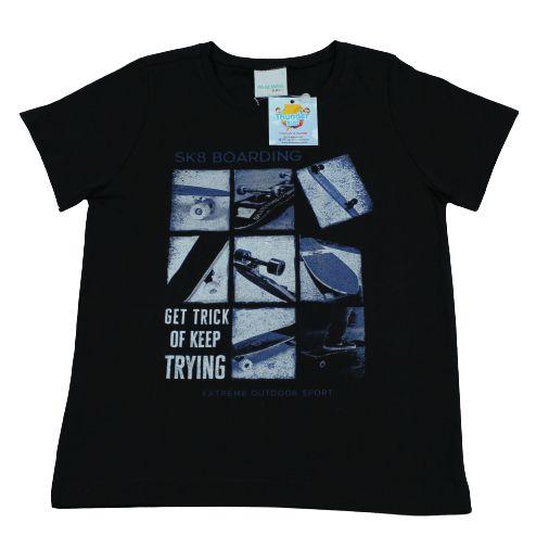 camiseta preta masculina malwee tamanho 3